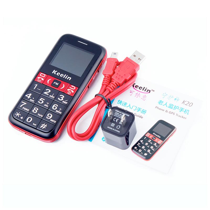 Cell phones for seniors K20 GPS SOS alert
